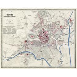 Doležalova mapa Brna z roku 1858
