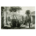 Pohled na Špilberk v r. 1850