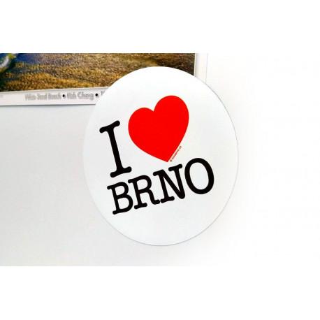 Magnetka I Love Brno