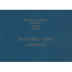 Brněnské Ivanovice, Dvorska, Holásky, Tuřany - Stručné dějiny v datech a pohlednicích