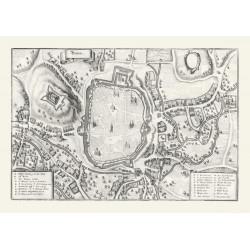 Merianova mapa Brna (1650)