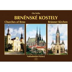 Brněnské kostely - Churches of Brno - Brünner Kirchen