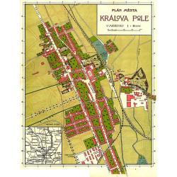 Historická mapa Králova Pole