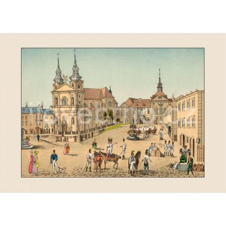 Dominikánské náměstí v r. 1820