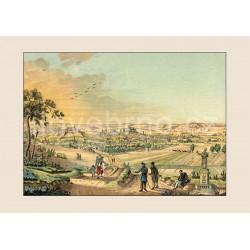 Pohled na Brno od jihozápadu (1827)