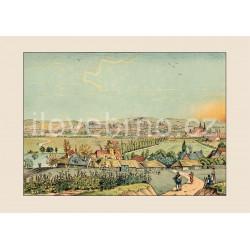 Pohled na Brno od Židenic (1825)