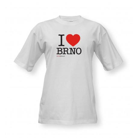 Tričko I Love Brno - velké logo