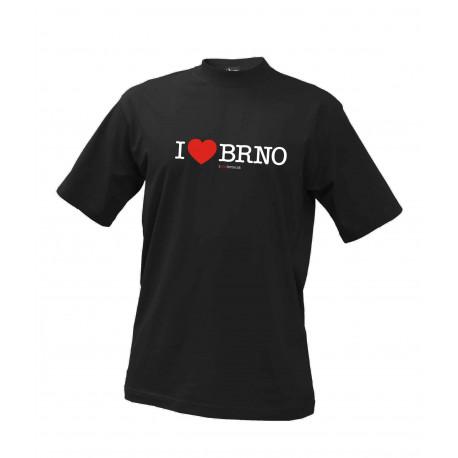 Tričko I Love brno