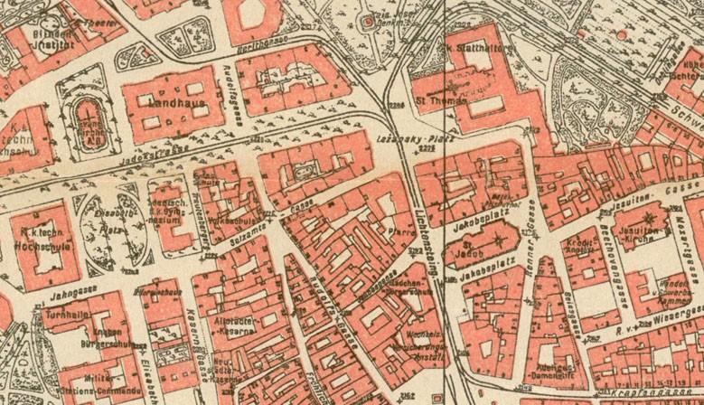 Historické mapy Brna